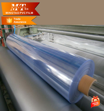Hot Sale Blue Normal Clear PVC Film