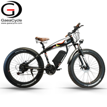 GaeaCycle big power 48v 500w beach snow fat tire electric bike e bicycle with CE