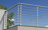 exterior balcony stainless steel grill terrace / terrace stainless steel railing