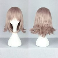 The Broken 2 Projectile Nanami chiaki 35cm Short New Design Synthetic Cosplay Anime Wig