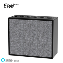 Eson Style NEW ARRIVVAL Voice Controlled Speakers 3.7V 1000mAH Alexa Speaker