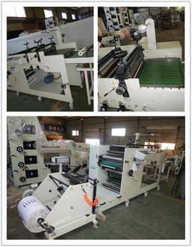 5 color cup printing with forming machine