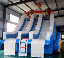 inflatable water swimming pool slide for summer