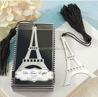 Wholesale Wedding Favors, Eiffel Tower Bookmark With Tassel New arrival
