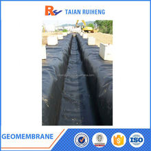 Black Pool Liner HDPE Textured Geomembrane
