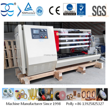 Adhesive tape slitting rewinding cutting machine
