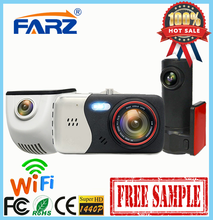 Car Back Camera Recorder Dash Cam Ambarella A7 Manual HD DVR Black Box Vehicle WIFI FC103