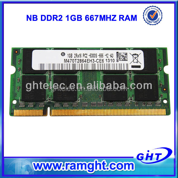 Computer part best price ram memory 1gb ddr2-667 pc2-5300 200pin sodimm