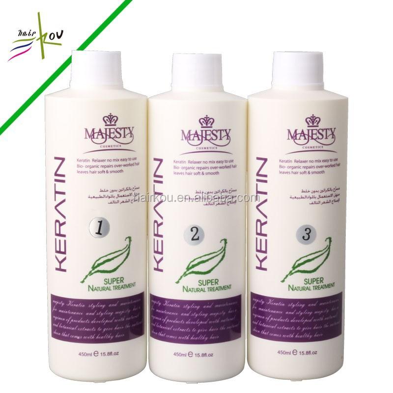 Keratin Hair Straightening Permanent Brasilianische