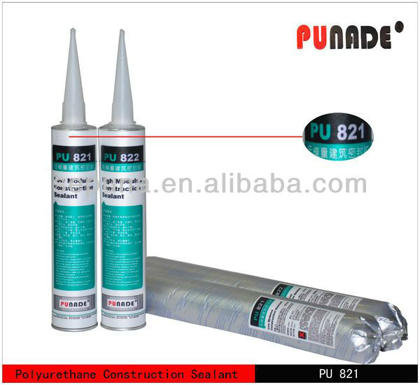 PU821 low modulus one component polyurethane adheisve sealant for construction precast slab
