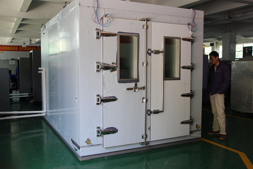 Environmental Climatic Temperature Humidity Walk-in Test Chamber For Construction Materials