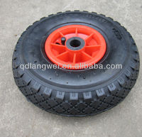 small trolley rubber wheel 3.00-4