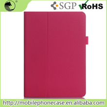 Ultra Thin Water Proof Felt Smart Litchi PU Leater Flip Tablet Case For iPad Air 3 pen slot