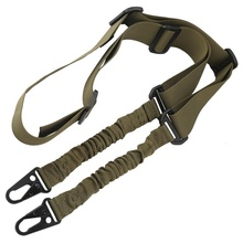 Upgrade Version tactical 2 points Rifle gun Sling with Enlarged metal hooks Hunting gun accessories
