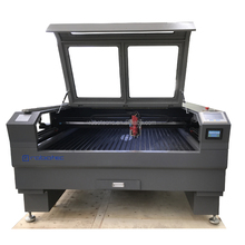 High technology 1390 <strong>flat</strong> bed cnc co2 laser cutting hybrid machine 150w 180w 260w
