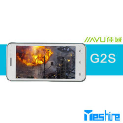 cheap 3g wcdma gsm smartphone jiayu g2s small size 4.0inch android phone 1GB ram +4GB rom