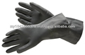 industry gloves, acid proof neoprene gloves, rubber gloves