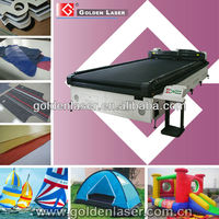 Conveyor Table Laser Cutting Machine PVC Fabric/Co2 Laser Cutter Tent