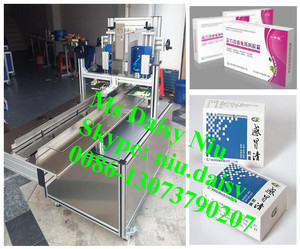commercial paper box gluing machine/paper box sealing machine/soap box packing machine