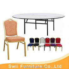 pvc folding table polyester table skirting designs