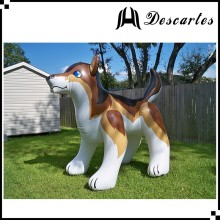 Kids toy 2m height inflatable wolf/inflatable fenris water wolf for pool