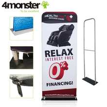 best selling dye sublimation tension fabric display banner stand with low price