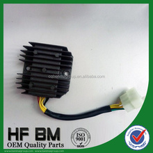 OEM GY6 motorcycle regulator rectifier,125CC six lines 12V scooter voltage regulator for motorbike accessories,HOT SELL