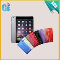 Tablet Case For iPad Mini 3 Cover Wave S Line Soft TPU