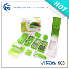 zeal AS028C 12 in1 multi-functional hot sale vegetable&fruit cutter kitchen spiral vegetable slicer
