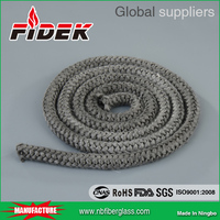 Waterproof heating stove fiberglass rope for stove sealing door