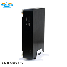 Partaker B12 Barebone Mini PC i5 4260U Mini PC Win 10 Dual Core 1 LAN 12V mini desktop <strong>computer</strong> 300M wifi VGA OPT