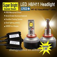 2 G Car H7 H8 CREE LED Headlight Fog Bulbs Light Lamp DC 12V Super White New