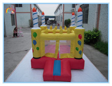 2016 Factory price small bouncy castle,inflatable candle castle,inflatable candle bouncer for kids