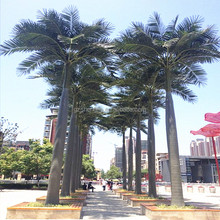 artificial king coconut tree in artificial tree decor artificial tree/fence/forest
