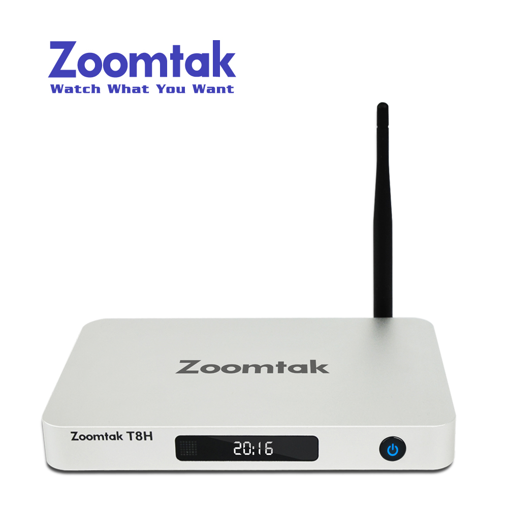 Zoomtak Full hd 4K Blue-ray Tv 2GB Ram Android <strong>satellite</strong> tv receiver tv box