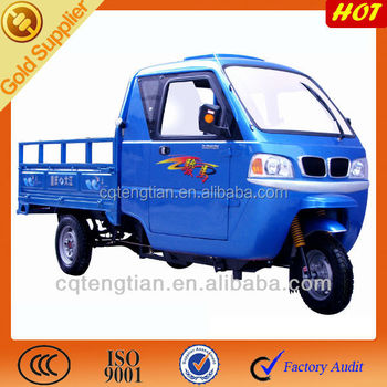 China Steering Wheel Tricycle with Closed Driver Cabin