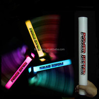 LED / Light Up Blue EPE Foam Tube for Festivals