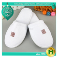 Coral Velvet Hotel Slippers / Chinese Good Fleece Embroidered Hotel Spa Slippers / Factory Low Price Personalized Slippers