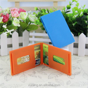 High quality hard plastic New product PVC plastic business id credit card holder