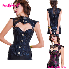 Clothing Factory Price Western Style High Quality Sexy Mature Women Punishment Corset