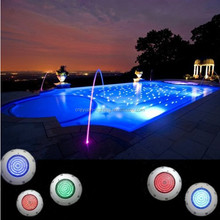 2014 new pool plaster led waterpoof underwater lights 20w/25w/35w swimming pool light flat
