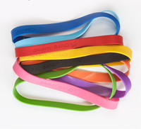 Sports Custom Debossed Silicone Wristbands,Silicone Rubber Band