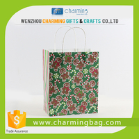 Eco friendly paper shopping bag printing paper cloth packaging bag