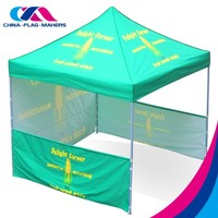 10x10 fold pick up movable canopy tent