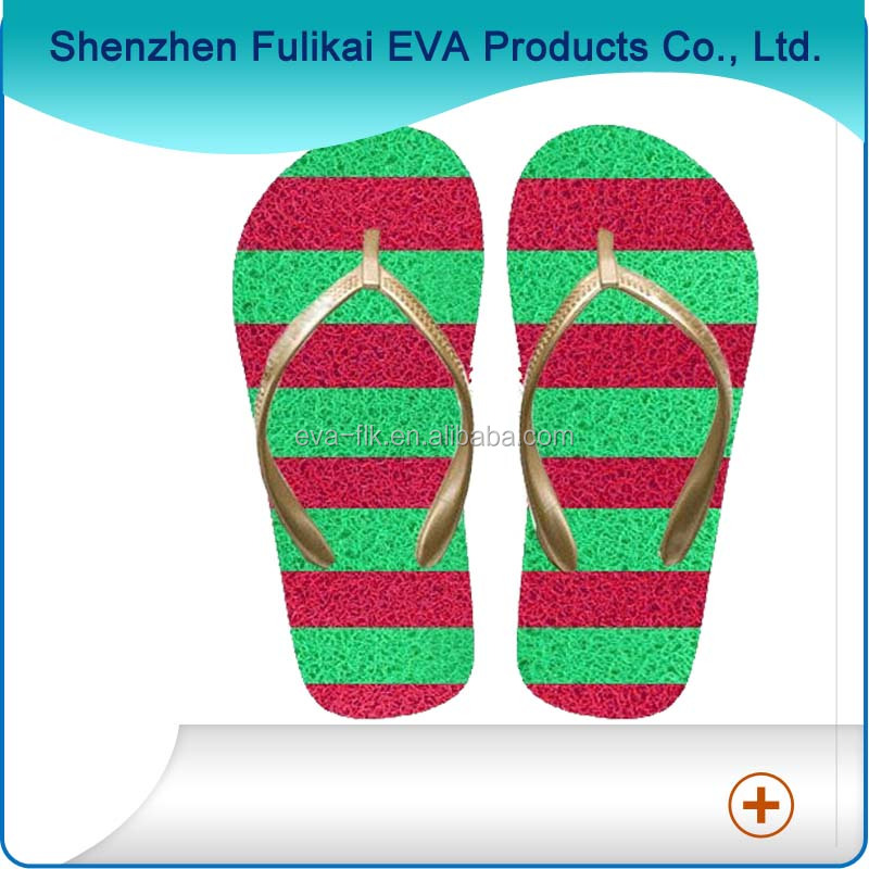 PVC Noodle Grass Slippers Seagrass Flip Flops