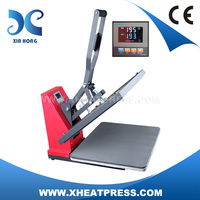 2016 new design lcd low price high quality manual flat press machine