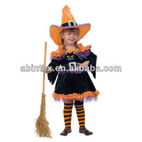 Girl's costume for Cat witch (08-347)
