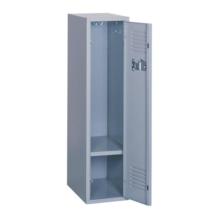 Single Door Steel Wardrobe Locker Metal Cupboard Almirah Iron Closet For School Changing Room