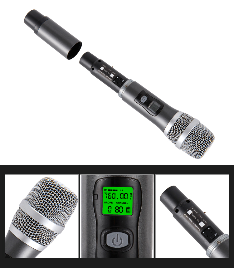 New Karaoke Microphones music system with wireless mike
