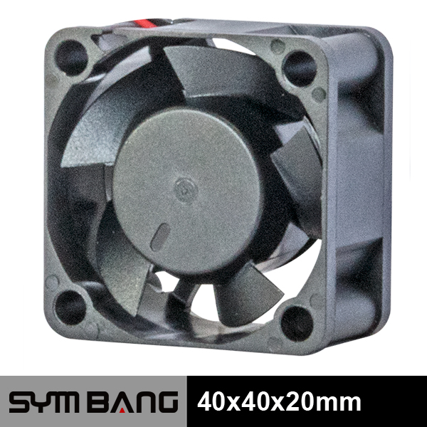 5v 12v 40*20mm small 3 wire dc fan (D4020-K)